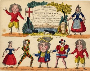 Pollock's Toy Theatre: Dick Whittington, United Kingdom, about 1840. © Victoria and Albert Museum, London