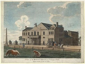 The Royal Circus at Blackfriars, 1752