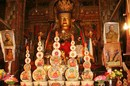 Shrine inside the Stupa, Gyantse, Tibet. Photograph © Katalin Enyedi