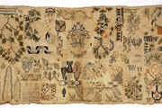 Sampler, Unknown, 1800-1899. Museum no. T.325-1921