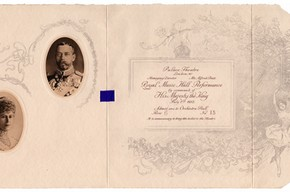 Ticket to the Royal Command Performance, 1 July 1912. © Victoria and Albert Museum, London