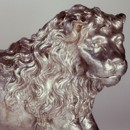 Rosenborg Lion, Elkington & Co., about 1885. Museum no. REPRO.1885-194
