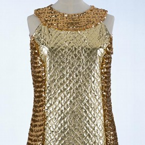 Evening dress, Leonard Joseph, 1968. Museum no. T.297-1974.  Victoria &amp; Albert Museum, London
