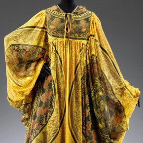 Kaftan, Zandra Rhodes, 1969. Museum no. T.358-1974