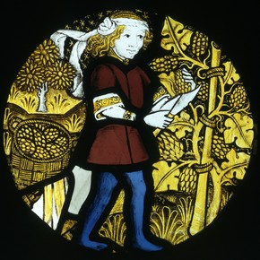 September; The Labours of the Months, unknown maker, about 1480. Museum no. C.133-1931