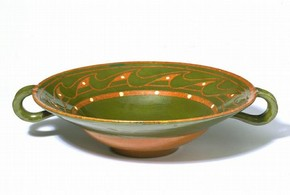 Bowl, Alfred William Finch, Finland, about 1900. Museum no. CIRC.758-1966