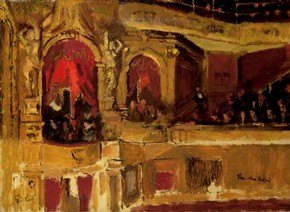 W.R. Sickert, The New Bedford (1915/16), The Mercer Art Gallery, Harrogate Borough Council
