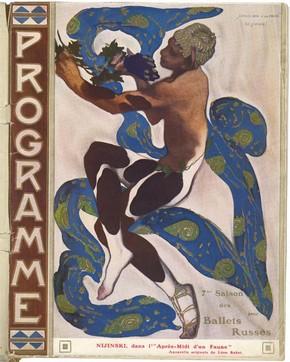 Diaghilev Ballet souvenir programme, 1912