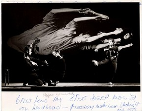 Conflicts, Ballet Rambert, photograph by Anthony Crickmay, 1962