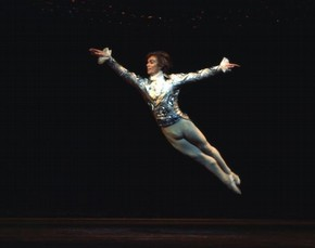 Rudolf Nureyev in The Nutcracker, photograph by Anthony Crickmay, mid 20th century