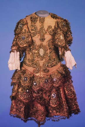 Costume worn in private court performances, mid 18th century, Museum no. S.792-1982
