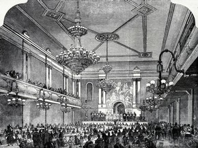 The Interior of Canterbury Music Hall, Lambeth, London, 19th century. © Victoria and Albert Museum, London