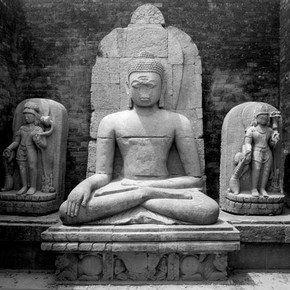 Seated Buddha, Udayagir. © John Huntington