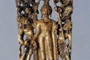 Descent of the Buddha from Trayastrimsa Heaven, Kashmir, 8th century. Museum no. IS.8-1978