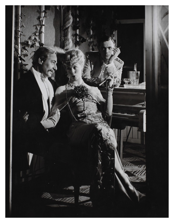 Paul Rogers, Wendy Hiller, Ronald Allen, Troilus and Cressida, Old Vic Theatre, Houston Rogers, 1955 © Victoria and Albert Museum, London