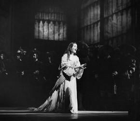 Joan Sutherland as Lucia in Donizetti's opera Lucia di Lammermoor, Royal Opera House, Covent Garden, London, 1959