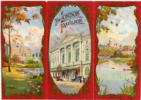 London Pavilion programme, 1912. © Victoria and Albert Museum, London
