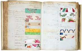 Cowtan & Son's order book (p.139-40), about 1836-41. Museum no. E.1864-1946