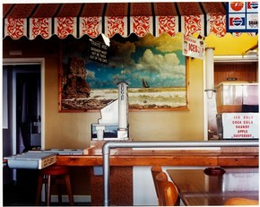 Jem Southam (born 1950), Cove Café, St Agnes from the series Paintings from the West of Cornwall, 1982, C-type print, Museum no. E.314-1988