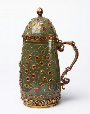 Jade Tankard (maker unknown), Turkey (1550-1650)