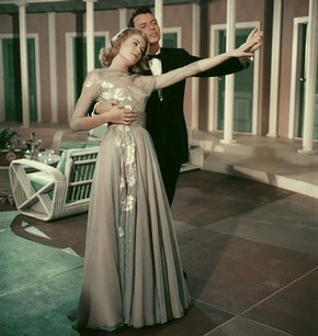 Grace Kelly and Frank Sinatra in 'High Society', 1956. Eric Carpenter/MGM (Kobal Collection)