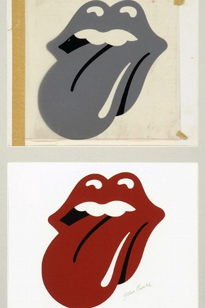 Art work for the Rolling Stones Hot Licks logo