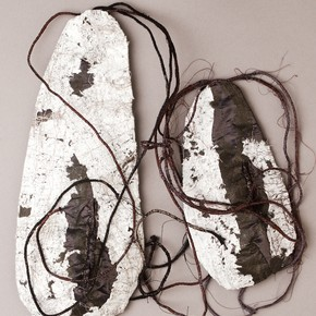 'Silver Birch Tree Pockets' made by Eleanor Symms during her part-time BA Combined Studies in Art 