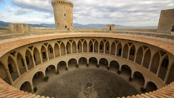 Bellver Castle, Majorca, Spain, 1309–40. Photograph by Salvador Busquets.