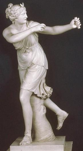'Diana' by Joseph Nollekens, 1778, Museum no. A.5-1986