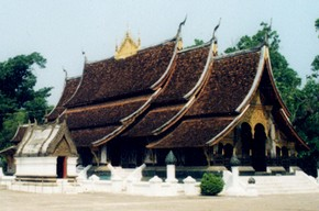 Wat Xieng Thong, Laos. Photograph by Heather Hames, 2001