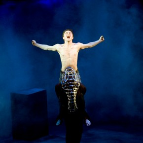 Daniel Radcliffe in 'Equus' recorded at the Gielgud Theatre 2007