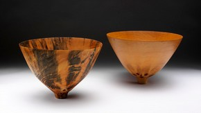 Two Bowls, Ron Kent, 2004. Museum no.LOAN:AMERICANFRIENDS.517-2007