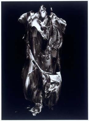 Frederick Sommer, Paracelsus, 1957, paint on cellophane, gelatin-silver print. Museum no. E.995-1993, © Victoria and Albert Museum, London/The Estate of Frederick  Sommer Courtesy Pace/MacGill, New York