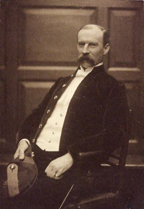 Photograph of Sir Aston Webb by Frederick Hollyer, about 1890, platinum print. Museum no. 7752-1938, © Victoria and Albert Museum, London