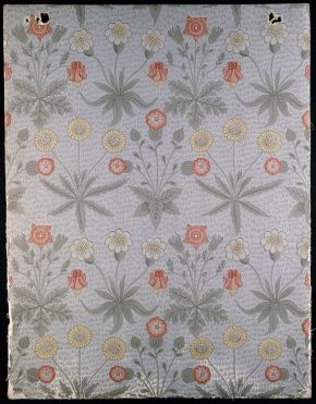 'Daisy' wallpaper by William Morris, 1864. Museum no. E.443-1919, © Victoria & Albert Museum, London