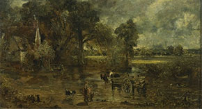 Studies for 'The Hay Wain', by John Constable, 1821