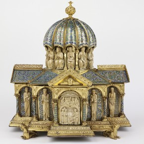 Tabernacle, unknown maker, about 1180. Musuem no. 7650-1861