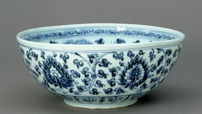 Bowl, unknown maker, Jingdezhen, China, 1368-1398. Museum no. C.18-1957
