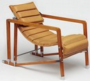 Armchair, designed and made by Eileen Gray, before 1929. Museum no. Circ.578-1971