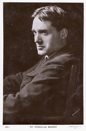Portrait of Harley Granville Barker (1877-1946), photograph, England, 20th century