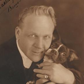 Feodor Chaliapin, sepia-tone photograph, 1929