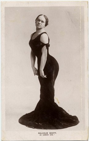 Malcolm Scott as Camille Clifford, early 20th century. © Victoria and Albert Museum, London