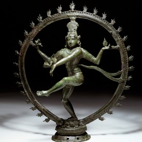 Siva Nataraja, Lord of the Dance, 1100-1200. Museum no. IM.71-1935