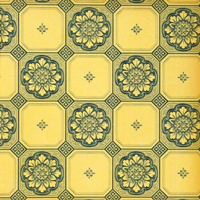 Tile pattern sanitary wallpaper, 1923-4. Museum no. E.2651-1983