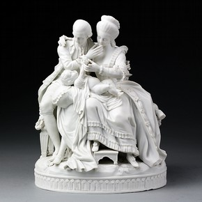'The Happy Parents', Meissen porcelain factory, late 18th century. Museum no. C.291-1916