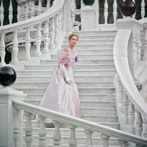 Princess Grace at the Princely Palace, Monaco, about 1960. © Howell Conant/Bob Adelman books