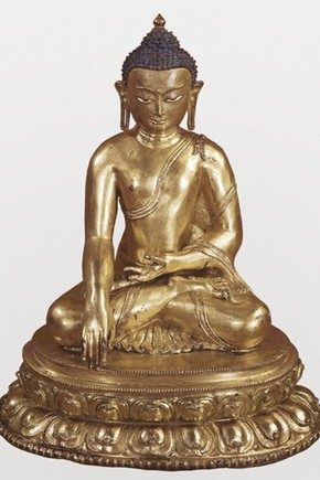 Sculpture of the Buddha Shakyamuni, Museum No. IM.121-1910