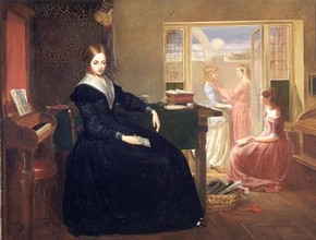 'The Governess' by Richard Redgrave RA, 1844, Museum no. FA.168