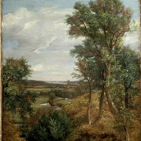'Dedham Vale' by John Constable RA, 1802, Museum no. 124-1888