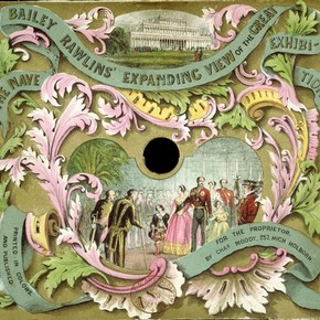 Expanding View of the Great Exhibition, Bailey Rawlins, England, 1851. Museum no. E.971-1936